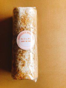 【純生カフェオレロール】 カフェオレ香る大人のロールケーキです。